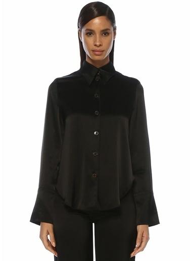 Nanushka Gömlek Siyah